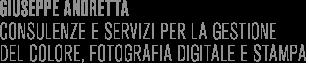 Giuseppe Andretta Istruttore certificato Adobe